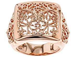 Filigree Copper Ring