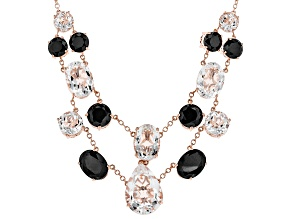 White Crystal Quartz Copper Necklace 114.16ctw