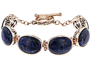 Copper Lapis  Bracelet