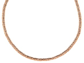 Copper Byzantine Link Necklace