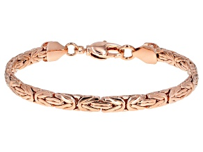Copper Byzantine Link Bracelet