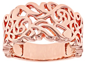 Filigree Copper Band Ring