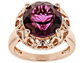 Copper Unchanging™ Quartz Ring 5.22ct