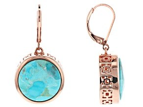 Turquoise Copper Earrings