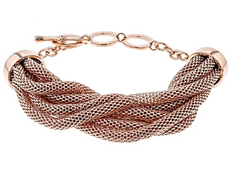Timna Jewelry Collection™  Copper 7-Strand Mesh Bracelet