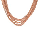 Copper Seven-Strand Mesh Necklace