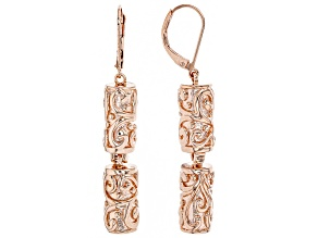 Timna Jewelry Collection™ Copper Station Dangle Earrings