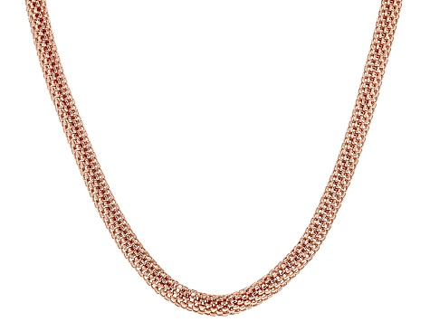 Copper Mesh Necklace