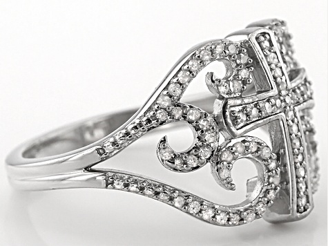 Diamond Silver Ring .25ctw