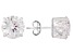 Charles Winston For Bella Luce ® Cubic Zirconia Rhodium Over Sterling Silver Stud Earrings 9.60ctw