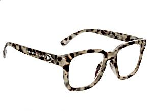 Crystal Reading Glasses With Blue Light Lenses. Strength 2.5