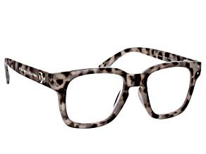 Crystal Reading Glasses With Blue Light Lenses. Strength 3.0