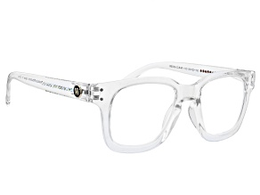 Charles Winston for Bella Luce(R) Clear Frame and Crystals Reading Glasses Strength 1.5