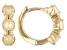 Multi Color Ethiopian Opal Child's 10k Yellow Gold Hoop Earrings  .26ctw
