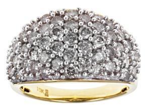 Diamond 10k Yellow Gold Ring 1.00ctw.