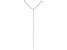 White Cubic Zirconia Rhodium Over Sterling Silver Necklace 13.51ctw