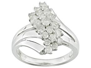 Diamond Sterling Silver Ring 1.00ctw