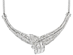 Diamond Brass Necklace 1.00ctw