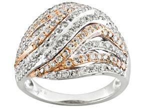1.50ctw Diamond 10k White Gold Ring