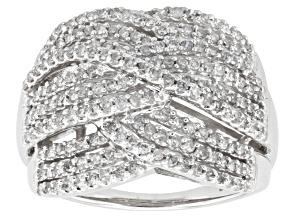 Diamond 10k White Gold Ring, 1.00ctw