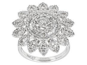 Diamond 10k White Gold