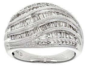 Diamond 14k White Gold Ring .75ctw