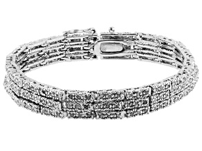Diamond Brass Bracelet 1.85ctw