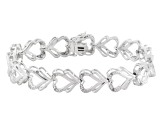 diamond brass bracelet .10ctw