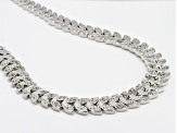 Diamond Brass Necklace 1.00ctw