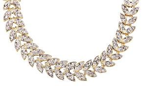 Diamond 18k Gold Over Brass Necklace 1.00ctw
