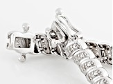Diamond Sterling Silver Bracelet .65ctw