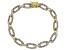 Diamond 18K Yellow Gold over Brass Bracelet 1.00ctw