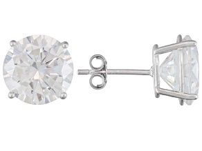 BELLA LUCE ® 14.40CTW RHODIUM PLATED STERLING SILVER STUD EARRINGS