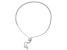 Cubic Zirconia Rhodium Over Sterling Silver Bracelet 2.25ctw