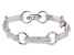 White Cubic Zirconia Rhodium Over Sterling Silver Bracelet 6.19ctw