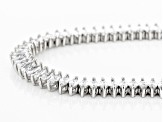 White Cubic Zirconia Rhodium Over Sterling Silver Necklace 25.50ctw