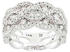 Diamond 14k White Gold Ring 1.50ctw