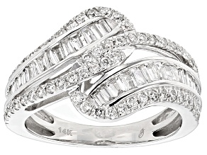 Diamond 14k White Gold Ring 1.00ctw