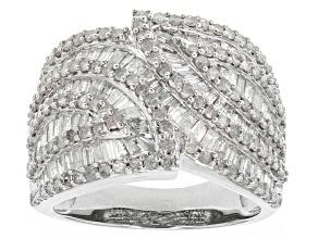 Diamond 10k White Gold Ring 2.50ctw