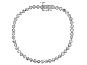 White Diamond 14k White Gold Bracelet 4.00ctw