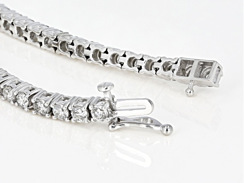 White Diamond 14k White Gold Bracelet 5.00ctw