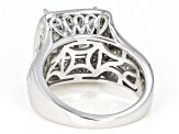 White Diamond 14K White Gold Ring 1.95ctw