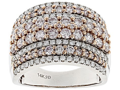White Diamond 14K White Gold Ring 1.93ctw