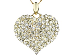 Candlelight Diamonds™ 10k Yellow Gold Pendant 1.76ctw