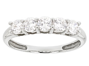 White Cubic Zirconia 14k White Gold Ring 1.75ctw