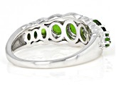 Green Chrome Diopside Sterling Silver Ring 1.67ctw