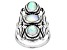 Ethiopian Opal Sterling Silver Statement Ring 1.50ctw