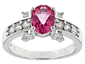 Pink Danburite Sterling Silver Ring 1.25ctw