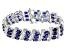Mahaleo Sapphire Sterling Silver Bracelet 34.00ctw