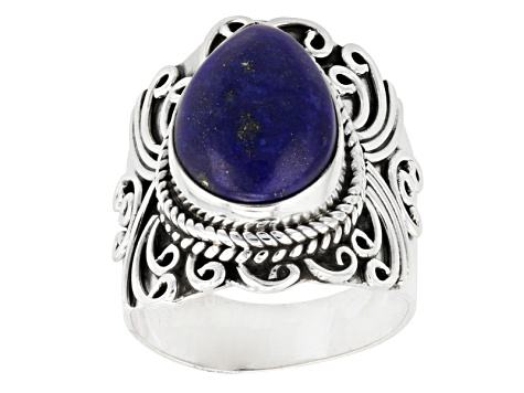 Blue Lapis Sterling Silver Ring